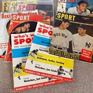 Lot # 92 - Vintage sports magazines