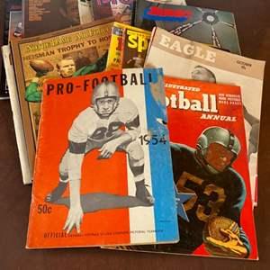 Lot # 100 - Vintage sports publications