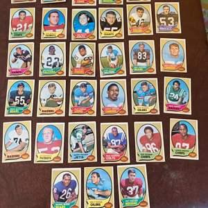 Lot # 108 - Football trading cards