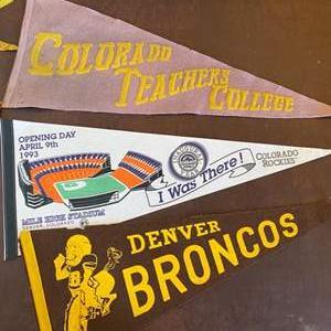 Lot # 118 - Colorado pennants