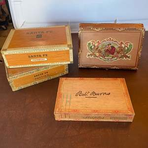 Lot # 129 - Cigar boxes