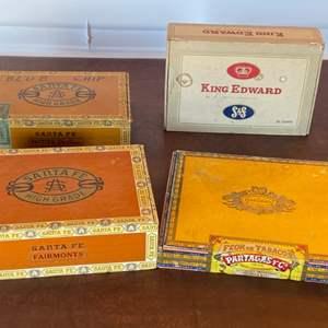 Lot # 130 - Cigar boxes