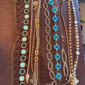 Lot # 142 - Vintage belt's and earrings