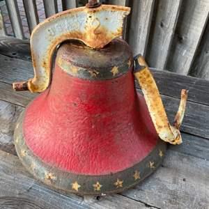 Lot # 180 - Old school steel bell