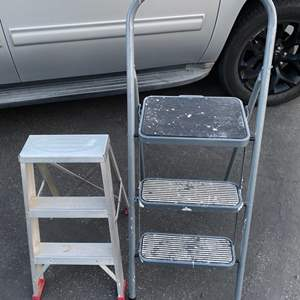 Lot # 181 - Step ladders