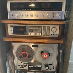 Lot # 182 - TEAC, Sansui and United Audio Equipment
