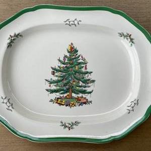 Lot # 193 - Spode Christmas tree platter