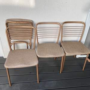 Lot # 199 - Vintage folding chairs, set of 4