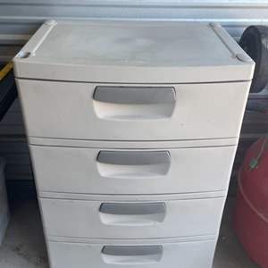 Lot # 113- Sterilite Storage Drawers