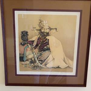 Lot # 191 - Signed and numbered litho-by artist