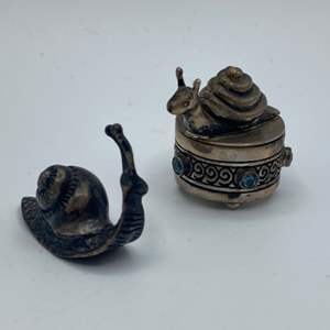 Lot # 19 - Sterling snails (24.8)