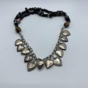 Lot # 25 - Sterling and black onyx necklace