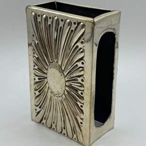 Lot # 1 - Sterling cigarette case holder (38.6g)