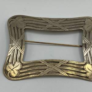 Lot # 2 - Large sterling pin (31.0g)
