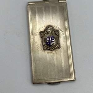 Lot # 13 - Sterling stamp holder (17.8g) unmarked