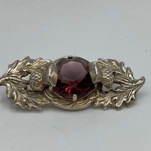 Lot # 25 - Sterling brooch (11.9 g)
