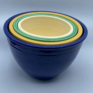 Lot # 78 - Fiesta stacking bowls (set of four)