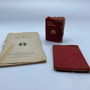 Lot # 84 - Rare and collectable mini books