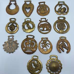 Lot # 89 - Horse Brasses early 1900's