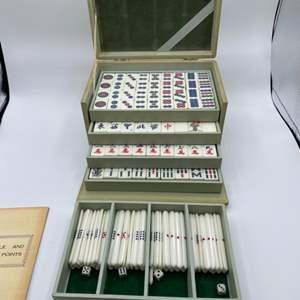 Lot # 90 - Vintage mah-jongg set