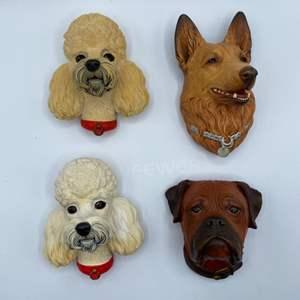 Lot # 97 - Bosson dog heads