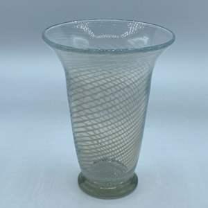 Lot # 122 - Czechoslovakian hand blown vase