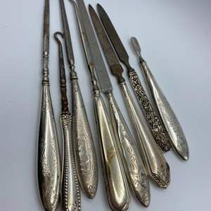 Lot # 142 - Weighted sterling (272g total weight)