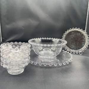 Lot # 158 - Candlewick glass