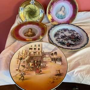 Lot # 172 - Vintage plates