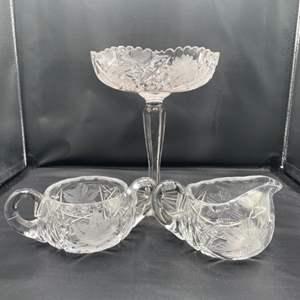 Lot # 196- Cut Glass