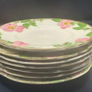 Lot # 201 - Franciscan desert rose & Ivy small plates