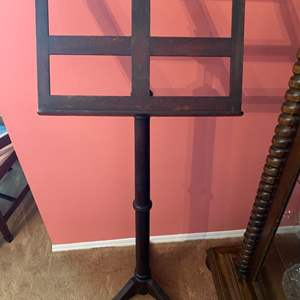 Lot # 216 - Antique wooden music stand