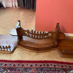 Lot # 217 - Antique organ section would make a great mantle or shelf