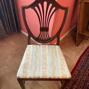 Lot # 218 - Four matching chairs in good condition