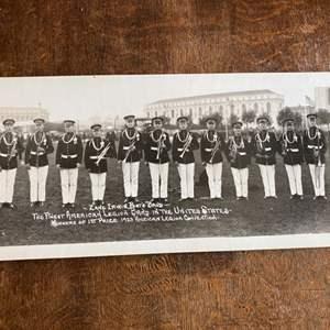 "Lot # 237 - 45"" long 1923 American legion band Panorama photo"