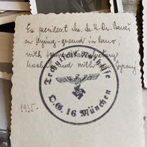 Lot # 238 - WW I memorabilia with many German photos