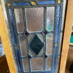 Lot # 245 - Leaded stained glass