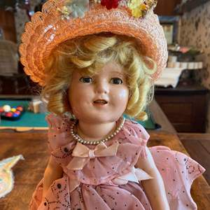 Lot # 248 - Shirley Temple doll and others