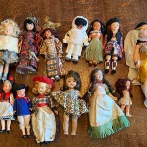 Lot # 249 - International dolls