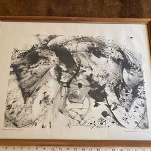 Lot # 257 - Risaburo Kimura signed artist proof lithograph 1963
