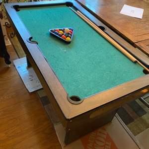 Lot # 260 - Mini pool table by Premier