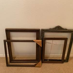 Lot # 261 - Four vintage frames
