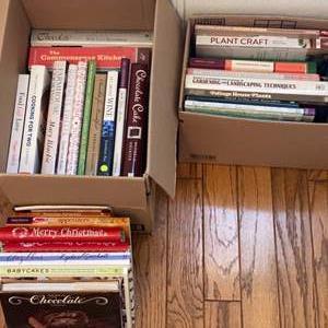 Lot # 266 - Gardening books and cookbooks