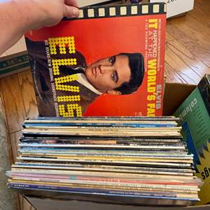 Lot # 269 - Two boxes of vintage vinyl