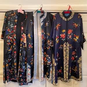 Lot # 272 - Vintage kimonos