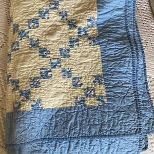 Lot # 281 - Handmade quilt for a crib