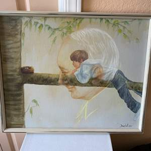 Lot # 284 - 1975 Painting by Dowell