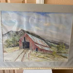 Lot # 285 - J.D. Tone watercolor