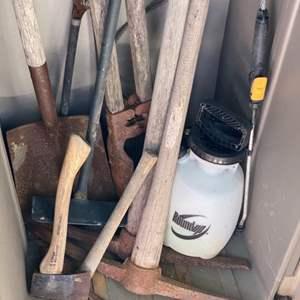 Lot # 288 - Gardening tools & supplies