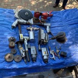 Lot # 296 - Pneumatic tools